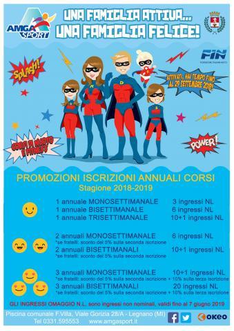 Promozioni famiglia stagione invernale 2018 2019 piscina for Piscina fantecolo