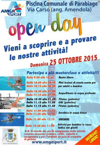 L 39 Open Day Anche In Piscina A Parabiago Amga Sport
